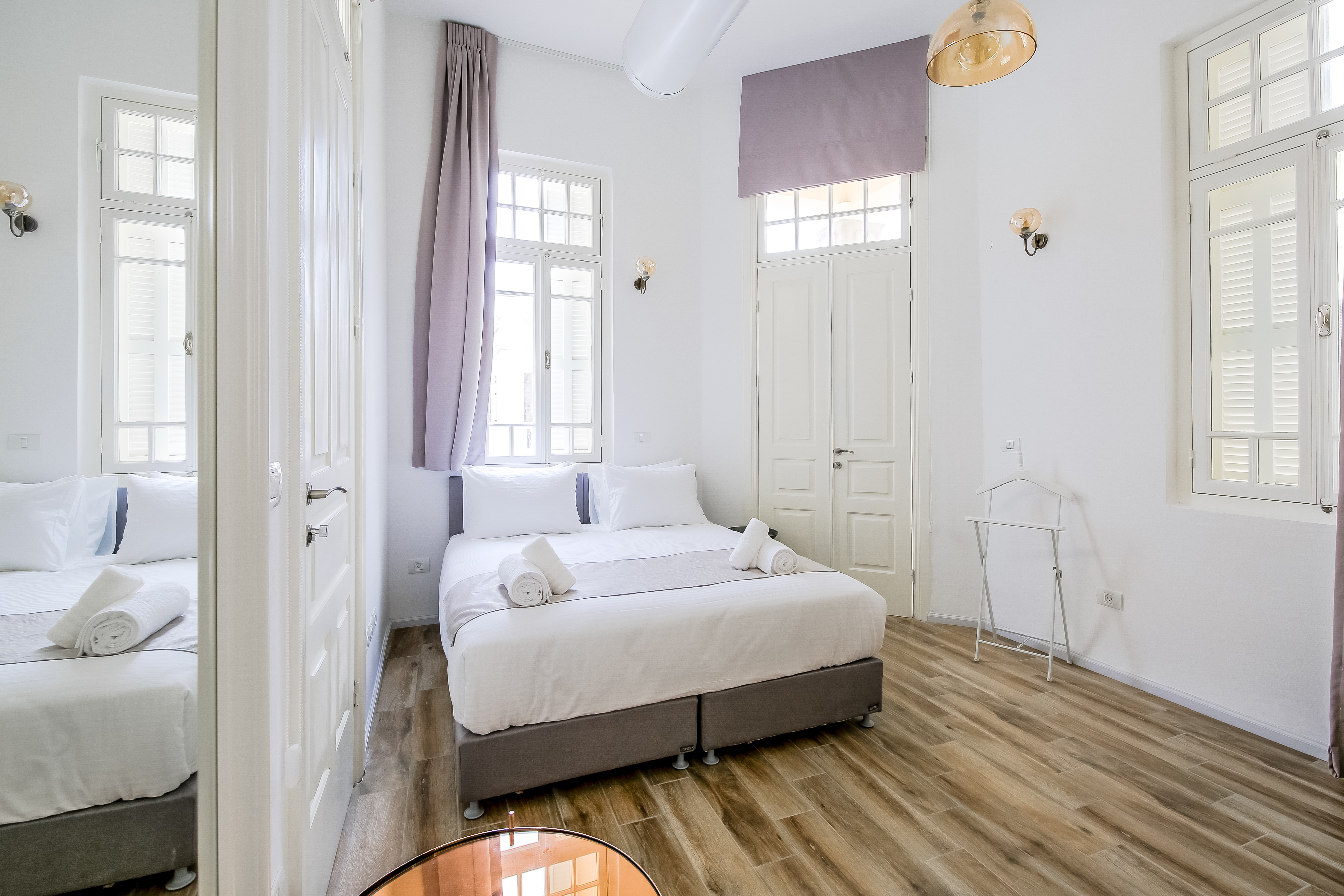 Beautiful room with king size bed